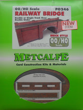 Load image into Gallery viewer, METCALFE PO246 OO/1.76 RAILWAY BRIDGE - (PRICE INCLUDES DELIVERY)