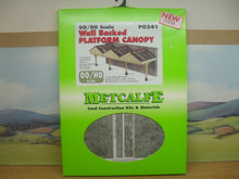 Load image into Gallery viewer, METCALFE PO341 OO/1:76 PLATFORM CANOPY WALL BACKED - (PRICE INCLUDES DELIVERY)