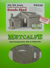 Load image into Gallery viewer, METCALFE PO336 OO/1:76 GOODS SHED SETTLE CARLISLE  - (PRICE INCLUDES DELIVERY)