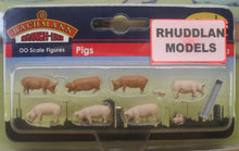 Load image into Gallery viewer, BACHMANN SCENECRAFT 36-082 OO PIGS - (PRICE INCLUDES DELIVERY)