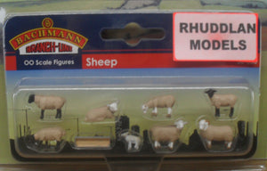 BACHMANN SCENECRAFT 36-083 OO SHEEP - (PRICE INCLUDES DELIVERY)