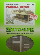 Load image into Gallery viewer, METCALFE PO321 OO/1:76 PARCELS OFFICE - (PRICE INCLUDES DELIVERY)