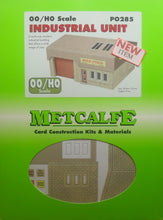 Load image into Gallery viewer, METCALFE PO285 OO/1:76 INDUSTRIAL UNIT - (PRICE INCLUDES DELIVERY)
