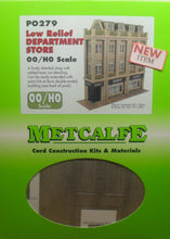 Load image into Gallery viewer, METCALFE PO279 OO/1:76 DEPARTMENT STORE LOW RELIEF - (PRICE INCLUDES DELIVERY)