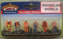 Load image into Gallery viewer, BACHMANN SCENECRAFT 36-049 OO TRACKSIDE WORKERS - (PRICE INCLUDES DELIVERY)