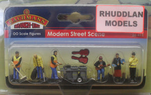 BACHMANN SCENECRAFT 36-411 OO MODERN STREET SCENE - (PRICE INCLUDES DELIVERY)