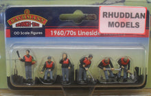 Load image into Gallery viewer, BACHMANN SCENECRAFT 36-421 OO 1960/70 LINESIDE WORKERS (PRICE INCLUDES DELIVERY)