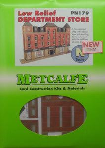 METCALFE PN179 LOW RELIEF DEPARTMENT STORE - (PRICE INCLUDES DELIVERY)