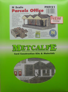 METCALFE PN921 N GAUGE PARCELS OFFICE - (PRICE INCLUDES DELIVERY)