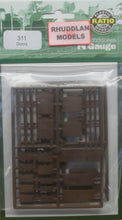Load image into Gallery viewer, RATIO 311 N GAUGE DOORS - (PRICE INCLUDES DELIVERY)