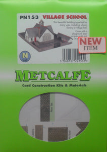 METCALFE PN153 VILLAGE SCHOOL - (PRICE INCLUDES DELIVERY)