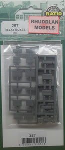 RATIO 257 N GAUGE RELAY BOXES (10) - (PRICE INCLUDES DELIVERY)
