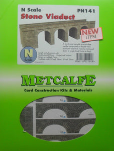 METCALFE PN141 N GAUGE STONE VIADUCT - (PRICE INCLUDES DELIVERY