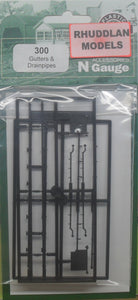 RATIO 300 N GAUGE GUTTERS & DRAINPIPES - (PRICE INCLUDES DELIVERY)