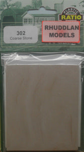 RATIO 302 N GAUGE COARSE STONE - (PRICE INCLUDES DELIVERY)