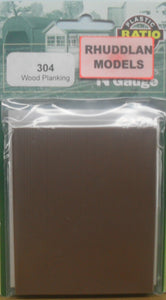 RATIO 304 N GAUGE WOOD PLANKINGS - (PRICE INCLUDES DELIVERY)