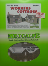 Load image into Gallery viewer, METCALFE PO255 OO/1.76 WORKERS COTTAGES - (PRICE INCLUDES DELIVERY)