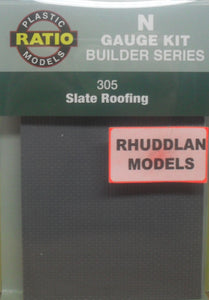 RATIO 305 N GAUGE SLATE ROOFING - (PRICE INCLUDES DELIVERY)