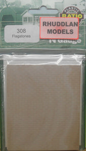 RATIO 308 N GAUGE FLAGSTONES - (PRICE INCLUDES DELIVERY)