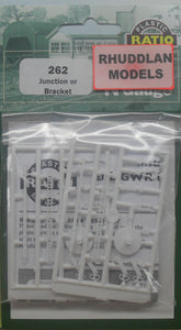 RATIO 262 N GAUGE JUNCTION OR BRACKET - (PRICE INCLUDES DELIVERY)
