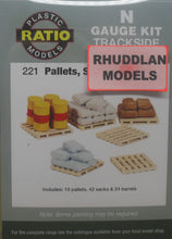 Load image into Gallery viewer, RATIO 221 N GAUGE PALLETS SACKS & BARRELS - (PRICE INCLUDES DELIVERY)