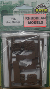 RATIO 316 N GAUGE COAL STAITHES - (PRICE INCLUDES DELIVERY)