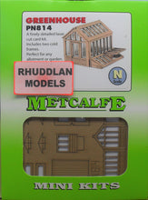 Load image into Gallery viewer, METCALFE PN814 N GAUGE GREENHOUSE - (PRICE INCLUDES DELIVERY)