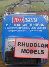 Load image into Gallery viewer, PECO LECTRICS PL-19 O GAUGE MICROSWITCH HOUSING - (PRICE INCLUDES DELIVERY)