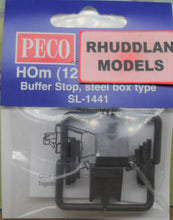 Load image into Gallery viewer, PECO STREAMLINE SL-1441 HOm GAUGE BUFFER STOP STEEL BOX TYPE - (PRICE INCLUDES DELIVERY)