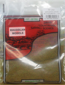 JAVIS REF JHG3 STATIC GRASS NO.3 AUTUMN MIX 2MM - (PRICE INCLUDES DELIVERY)