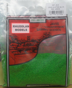 JAVIS REF JS15 SCATTER NO.15 MID GREEN - (PRICE INCLUDES DELIVERY)