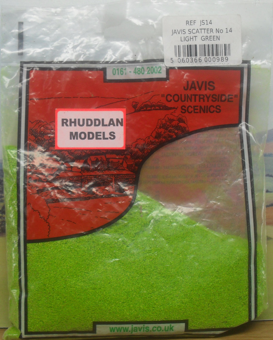 JAVIS REF JS14 SCATTER NO.14 LIGHT GREEN - (PRICE INCLUDES DELIVERY)