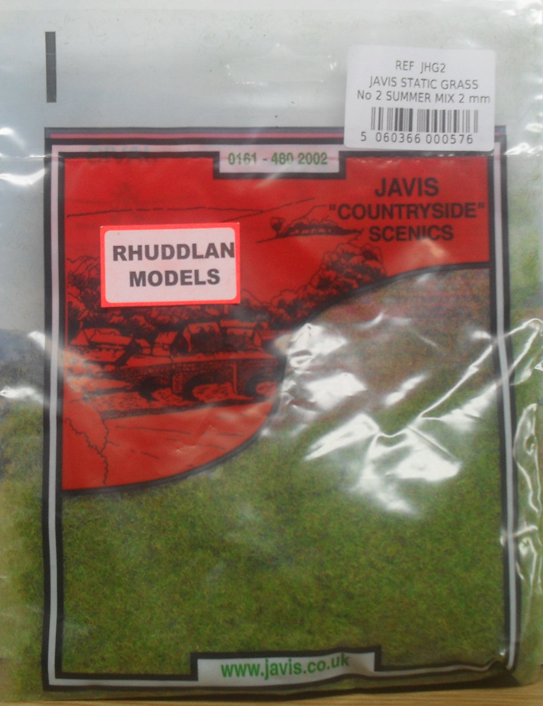 JAVIS REF JHG2 STATIC GRASS NO.2 SUMMER MIX 2MM - (PRICE INCLUDES DELIVERY)