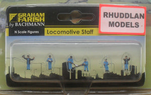GRAHAM FARISH 379-307 N GAUGE LOCOMOTIVE STAFF - (PRICE INCLUDES DELIVERY)