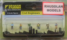 Load image into Gallery viewer, GRAHAM FARISH 379-312 N GAUGE CIVIL ENGINEERS - (PRICE INCLUDES DELIVERY)