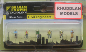 GRAHAM FARISH 379-312 N GAUGE CIVIL ENGINEERS - (PRICE INCLUDES DELIVERY)