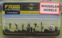 Load image into Gallery viewer, GRAHAM FARISH 379-329 N GAUGE 1960/70 TRADESMEN - (PRICE INCLUDES DELIVERY)