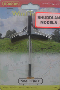 HORNBY SKALEDALE R9651 00/1:76 WIND TURBINE - (PRICE INCLUDES DELIVERY)