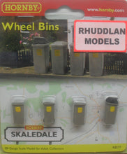 Load image into Gallery viewer, HORNBY SKALEDALE R8577 00/1:76 WHEELIE BINS - (PRICE INCLUDES DELIVERY)