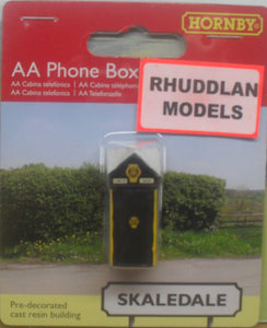 HORNBY SKALEDALE R9867 00/1:76 AA PHONE BOX - (PRICE INCLUDES DELIVERY)