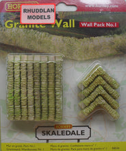 Load image into Gallery viewer, HORNBY SKALEDALE R8526 OO/1.76 WALL PACK NO.1 GRANITE WALL - (PRICE INCLUDES DELIVERY)