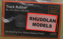 Load image into Gallery viewer, GAUGEMASTER GM27 TRACK RUBBER (120 GRIT) - (PRICE INCLUDES DELIVERY)