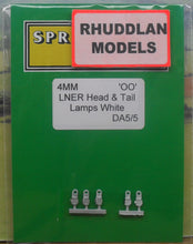 Load image into Gallery viewer, SPRINGSIDE MODELS SPDA5 OO/1.76 LNER HEAD & TAIL LAMPS (5) - (PRICE INCLUDES DELIVERY)