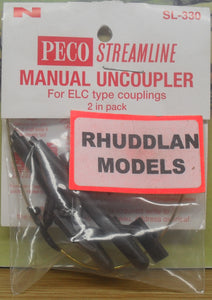 PECO STREAMLINE SL-330 N GAUGE MANUAL UNCOUPLER - (PRICE INCLUDES DELIVERY)