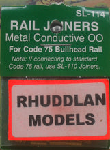 Load image into Gallery viewer, PECO STREAMLINE SL-114 OO/1:76 BULLHEAD RAIL JOINERS - (PRICE INCLUDES DELIVERY)