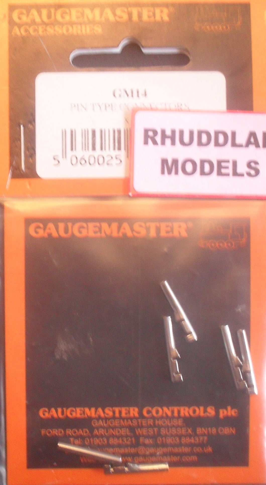 GAUGEMASTER GM 14 PIN TYPE CONNECTORS (6) - (PRICE INCLUDES DELIVERY)