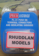 Load image into Gallery viewer, PECO LECTRICS PL-31 PUSH ON TERMINAL CONNECTORS AND INSTALLING SHROUDS - (PRICE INCLUDES DELIVERY)