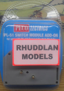 PECO LECTRICS PL-51 SWITCH MODULE ADD-ON - (PRICE INCLUDES DELIVERY)