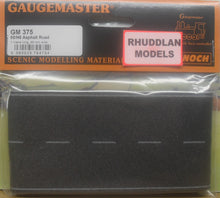 Load image into Gallery viewer, GAUGEMASTER GM 375 OO/1:76 ASPHALT ROAD 1M, 66MM - (PRICE INCLUDES DELIVERY)
