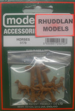 Load image into Gallery viewer, MODEL SCENE ACCESSORIES NO.5178 N GAUGE HORSES - (PRICE INCLUDES DELIVERY)